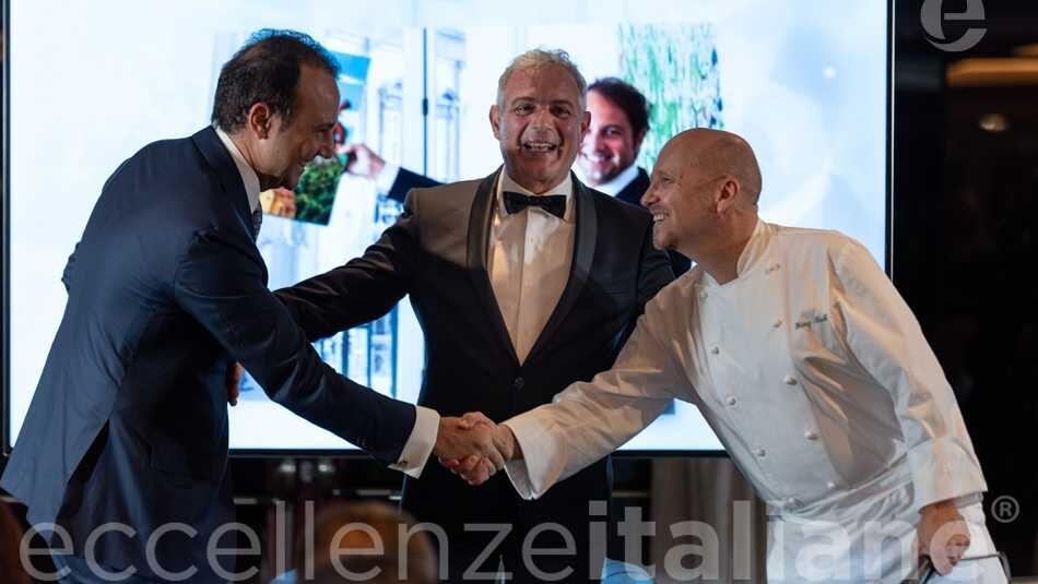 Il saluto di Danilo Iervolino e Heinz Beck al Galà delle Eccellenze Italiane 2019