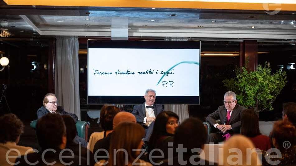 Gala delle Eccellenze Italiane: talk Franco Ricci, Piero Muscari e Patrizio Podini