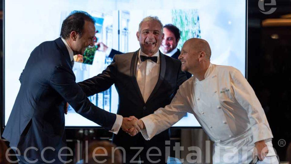 Danilo Iervolino, Muscari, Heinz Beck al Gala Eccellenze Italiane