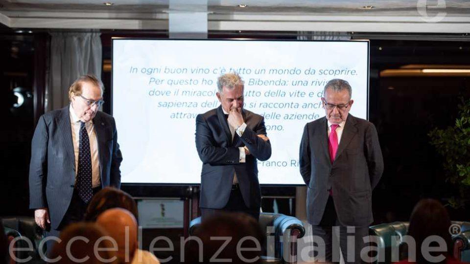 Lettura Motivazione Premio Eccellenze Italiane 2019 Franco Ricci
