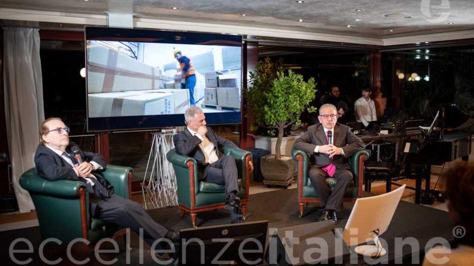 Franco Ricci, Piero Muscari, Patrizio Podini - Talk Gala Eccellenze