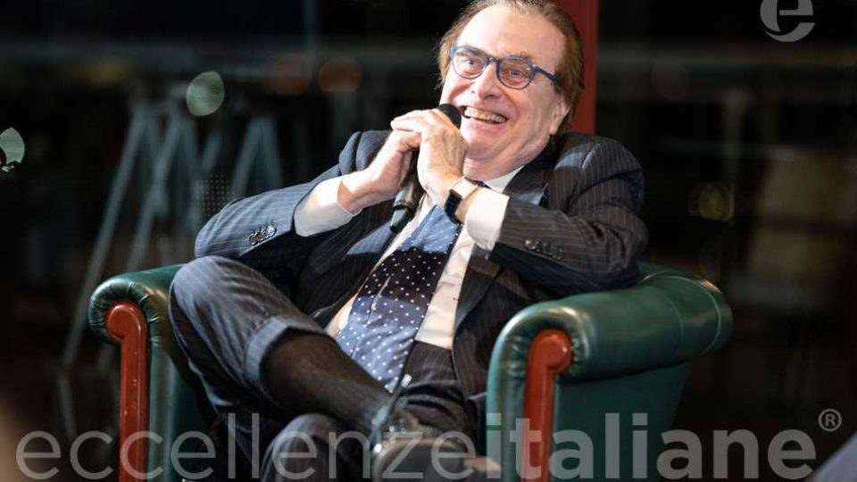 Franco Maria Ricci al Galà delle Eccellenze Italiane edizione 2019