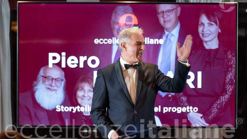Piero Muscari al Gala delle Eccellenze Italiane 201 presenta il comitato scientifico