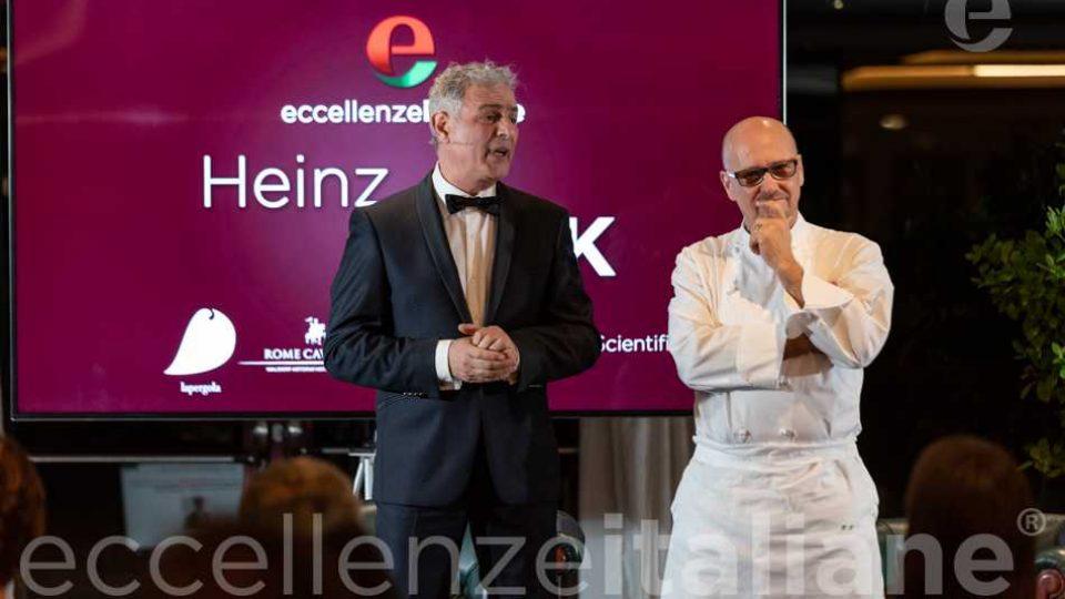 Piero Muscari ed Heinz Beck al Gala delle Eccellenze Italiane, IV edizione