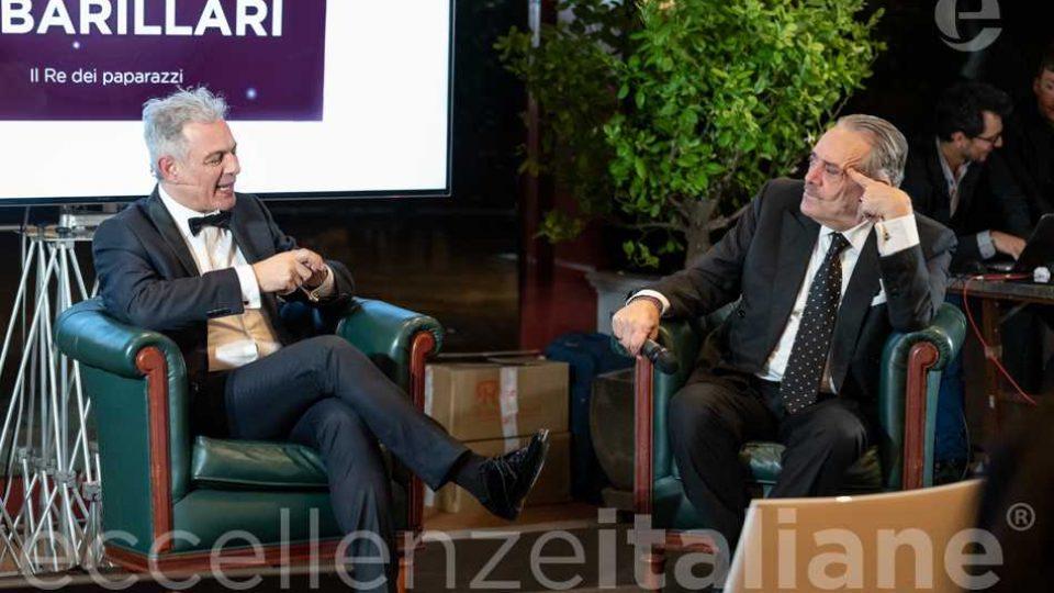 Rino Barillari e Piero Muscari al Gala delle Eccellenze Italiane