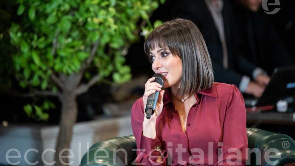 Simona Molinari al galà delle Eccellenze Italiane 2019