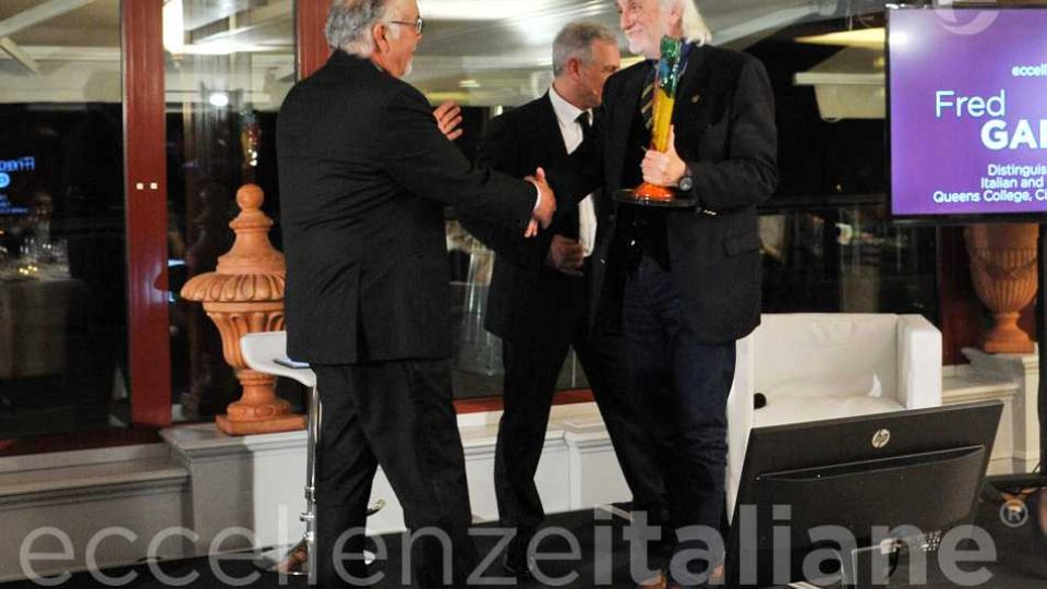 Alessandro Bianchi Premia Fred Luis Gardaphe Eccellenze Italiane