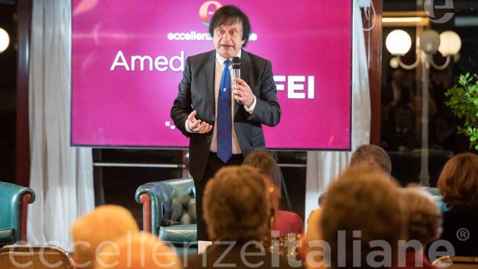 Amedeo Maffei intervento al Galà delle Eccellenze Italiane 2019