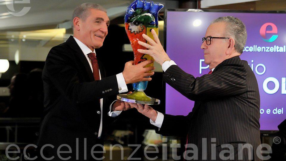 Cav.podini Premia Patrizio Oliva Galà Eccellenze Italiane