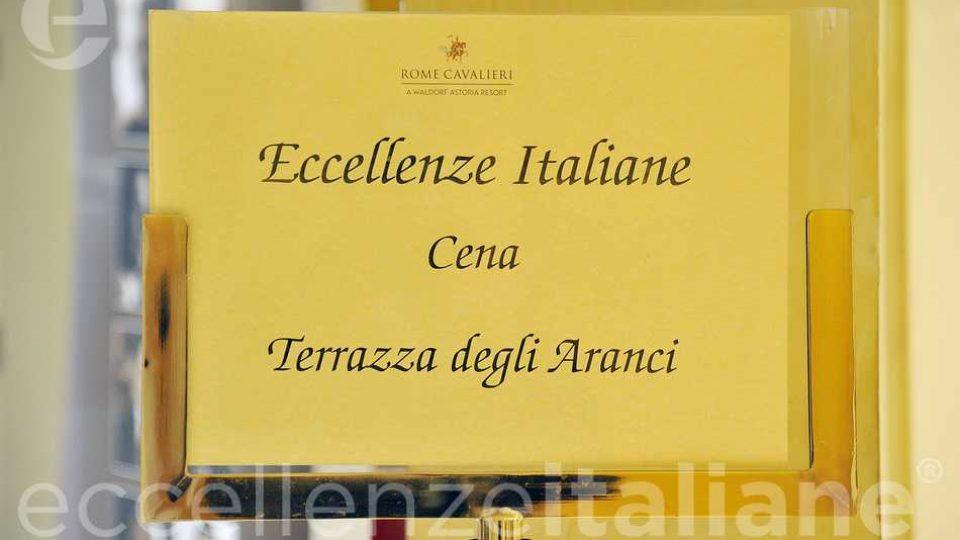 Cena Eccellenze Terrazza