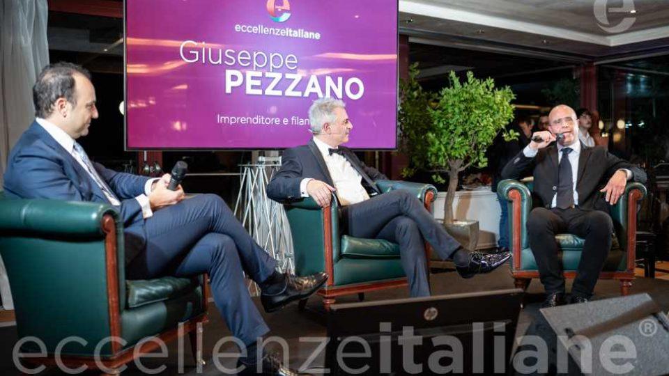 Talk Danilo Iervolino Piero Muscari e Giuseppe Pezzano al Galà delle Eccellenze Italiane