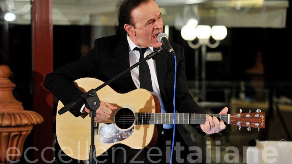 Dodi Battaglia Canta Al Galà Eccellenze Italiane2018