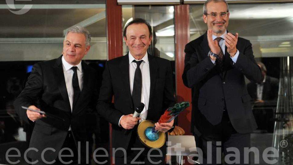 Dodi Battaglia Riceve Premio Eccellenze Italiane2018
