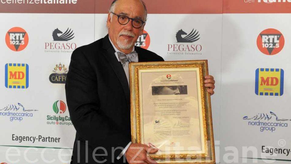 Fred Gardaphe Con Cornice Eccellenze Italiane