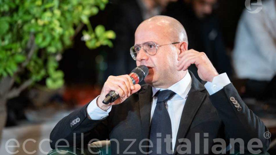 Giuseppe Pezzano al Galà delle Eccellenze Italiane 2019
