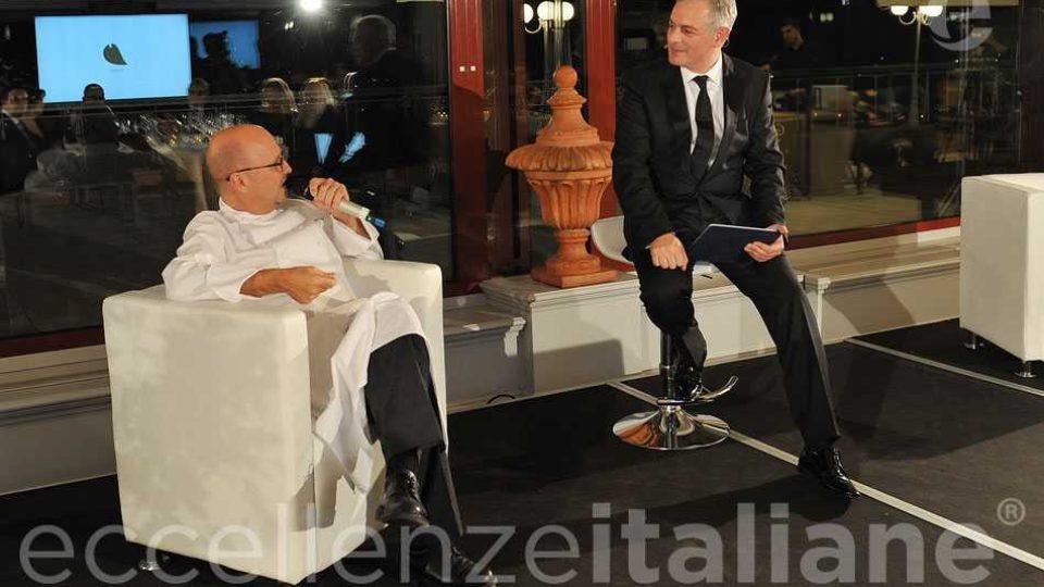 Heinz Beck Muscari Gala Eccellenze Italiane 2018
