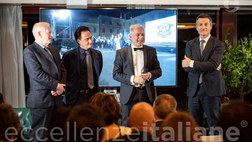 da sinistra: Sebastiano D'angelo, Riccardo Longo, Piero Muscari, Orazio Iacono