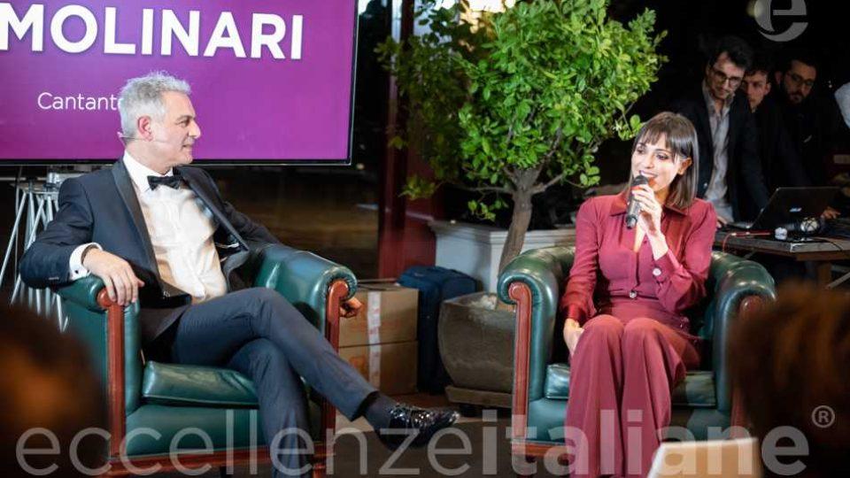 Piero Muscari e Simona Molinari al galà delle Eccellenze Italiane 2019