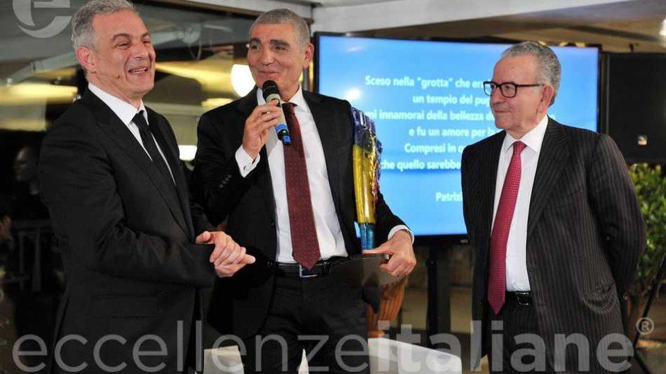 Piero Muscari Patrizio Oliva Patrizio Podini Premio Eccellenze Italiane 2018