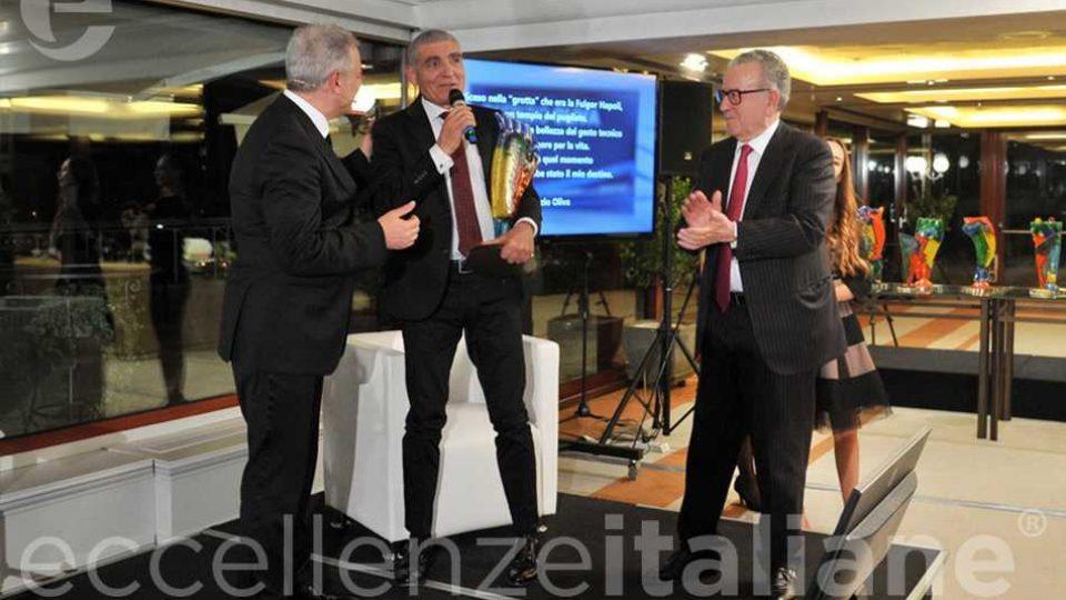 Piero Muscari Patrizio Oliva Patrizio Podini Premio Eccellenze Italiane