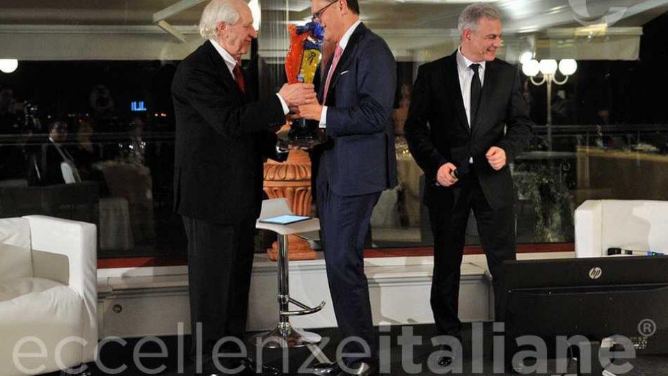 Rocco Guglielmo Premia Pino Pinelli Eccelenze Italiane2018