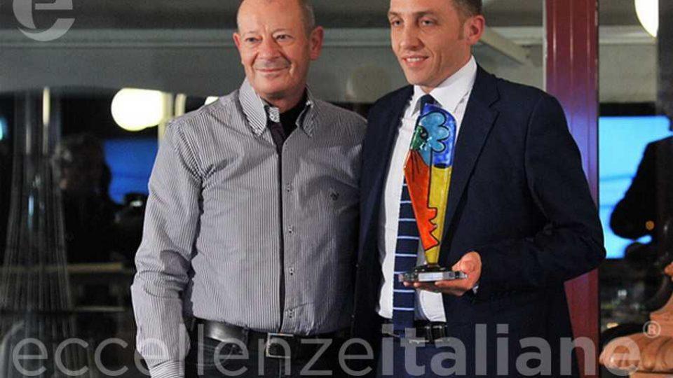 Antonio Minopoli riceve il premio Partner Energy e& gas - Eagency Eccellenze Italiane 2018