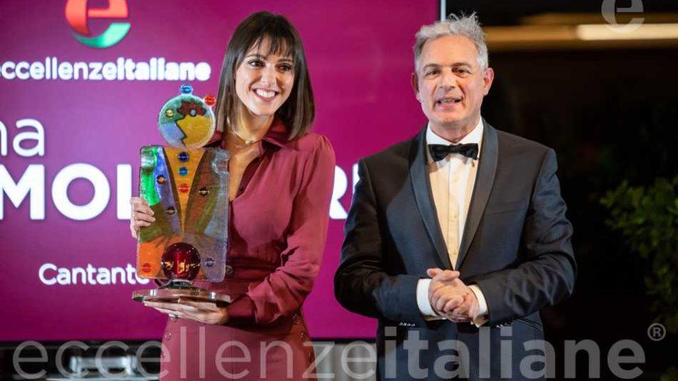 Simona Molinari e Piero Muscari- Premio Eccellenze Italiane 2019