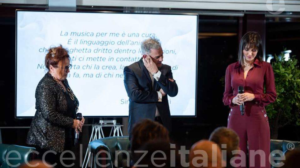 Lettura motivazione Simona Molinari al Galà delle Eccellenze Italiane 2019